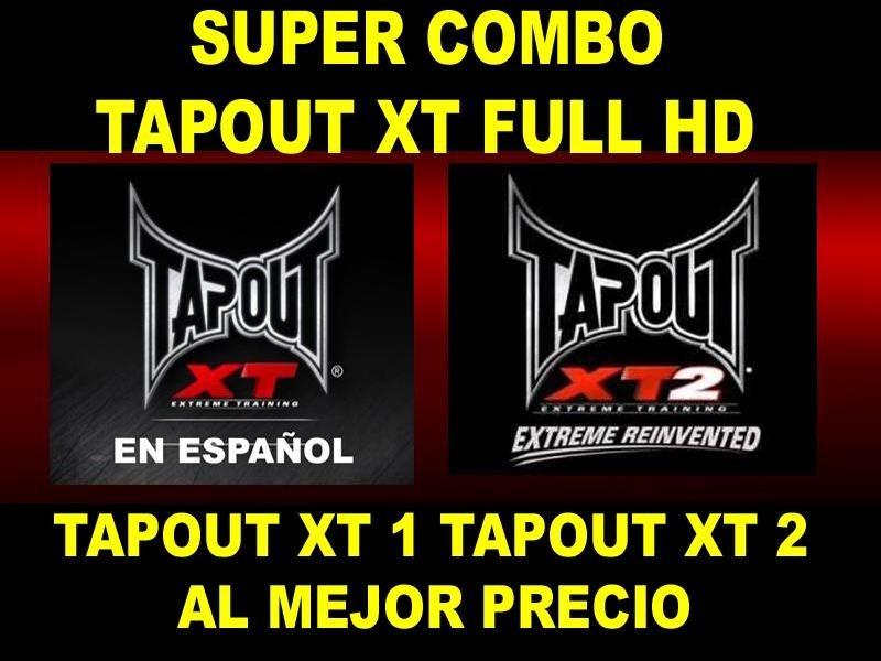 Tapout Xt 1 Y Tapout Xt 2 Los 2 Full Hd Regalo Especial