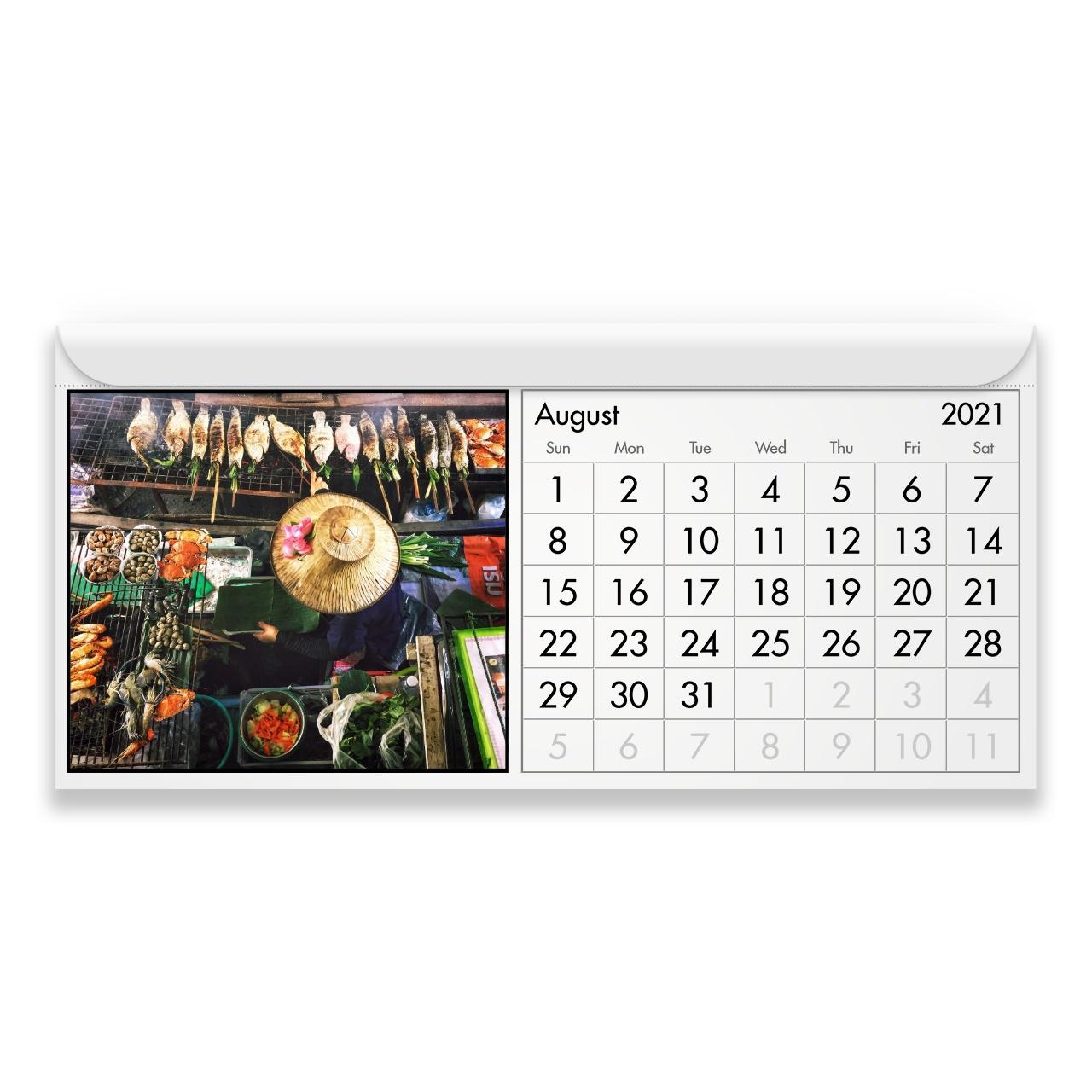 Thailand 2021 Magnetic Calendar 1