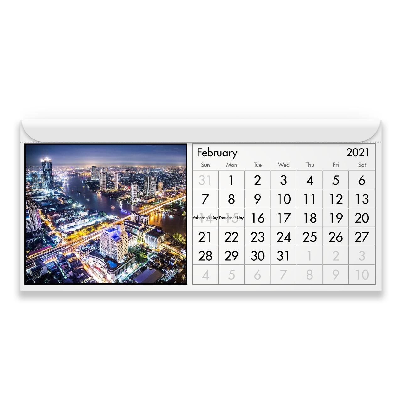 Thailand 2021 Magnetic Calendar 3
