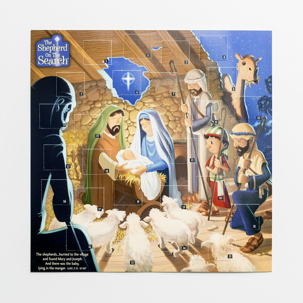 The Shepherd On The Search Advent Calendar Nativity