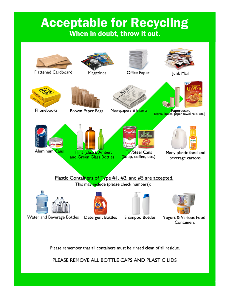 The Township Of Verona New Jersey Garbage Recycling