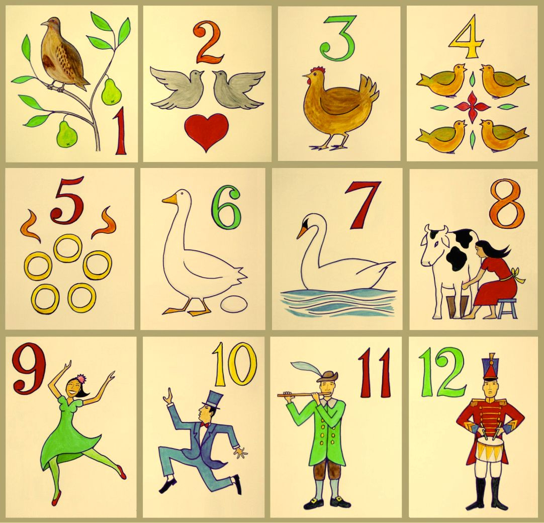 The Twelve Days Of Christmas Song Wikipedia