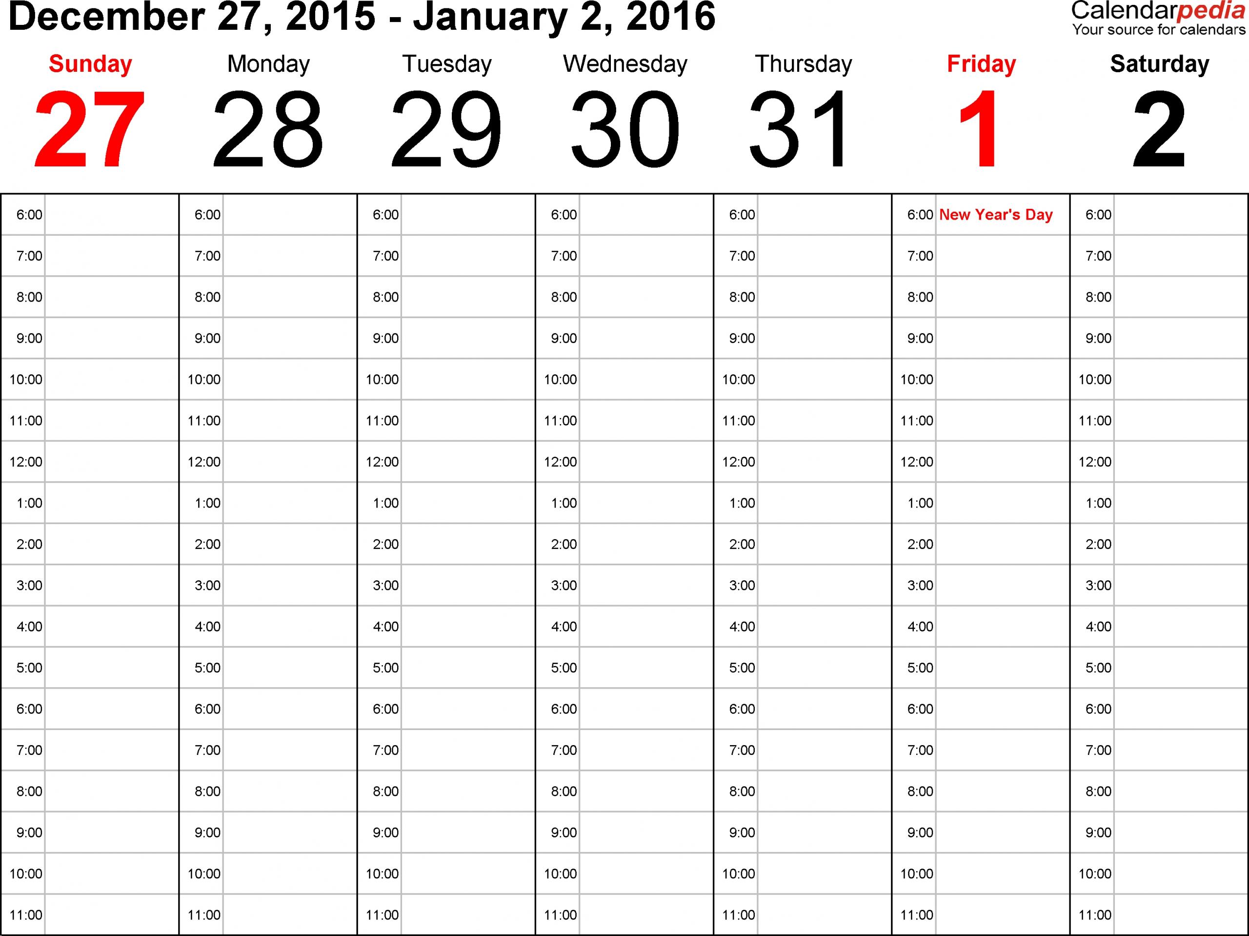 Time And Date Weekly Calendar Calendar 2020 Template