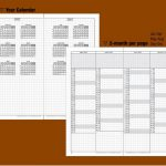 Tn Regular 5 Year Calendar Book 2020 2021 2022 2023 2024