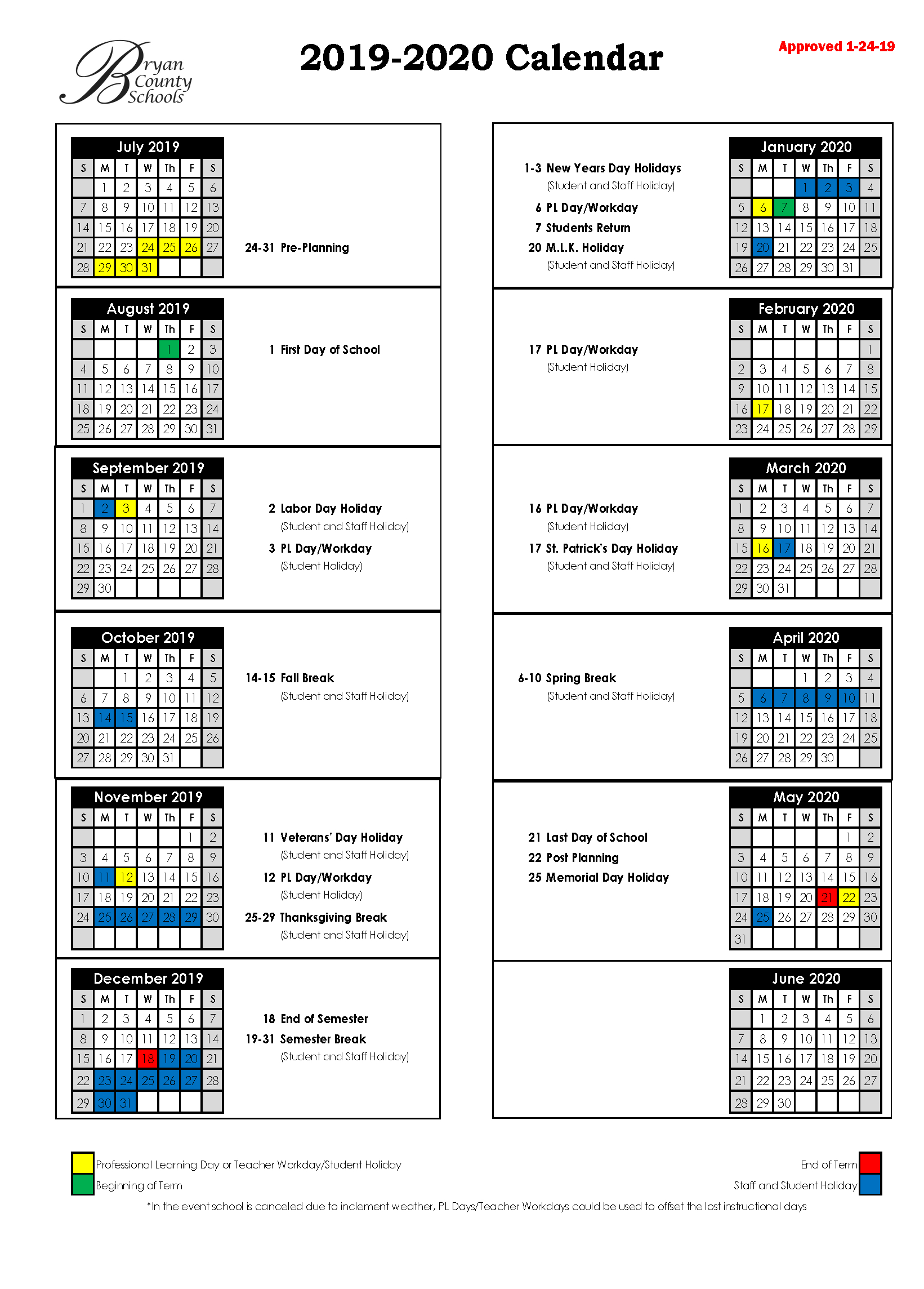 U Of R 2020 2021 Events Calendar Calendar Template
