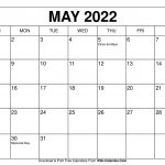 universal blank 30 day calendar starting may 24 for