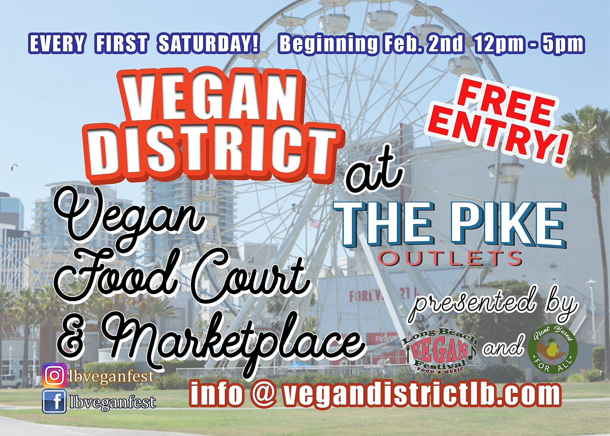 Vegan District At The Pike California Unpublished