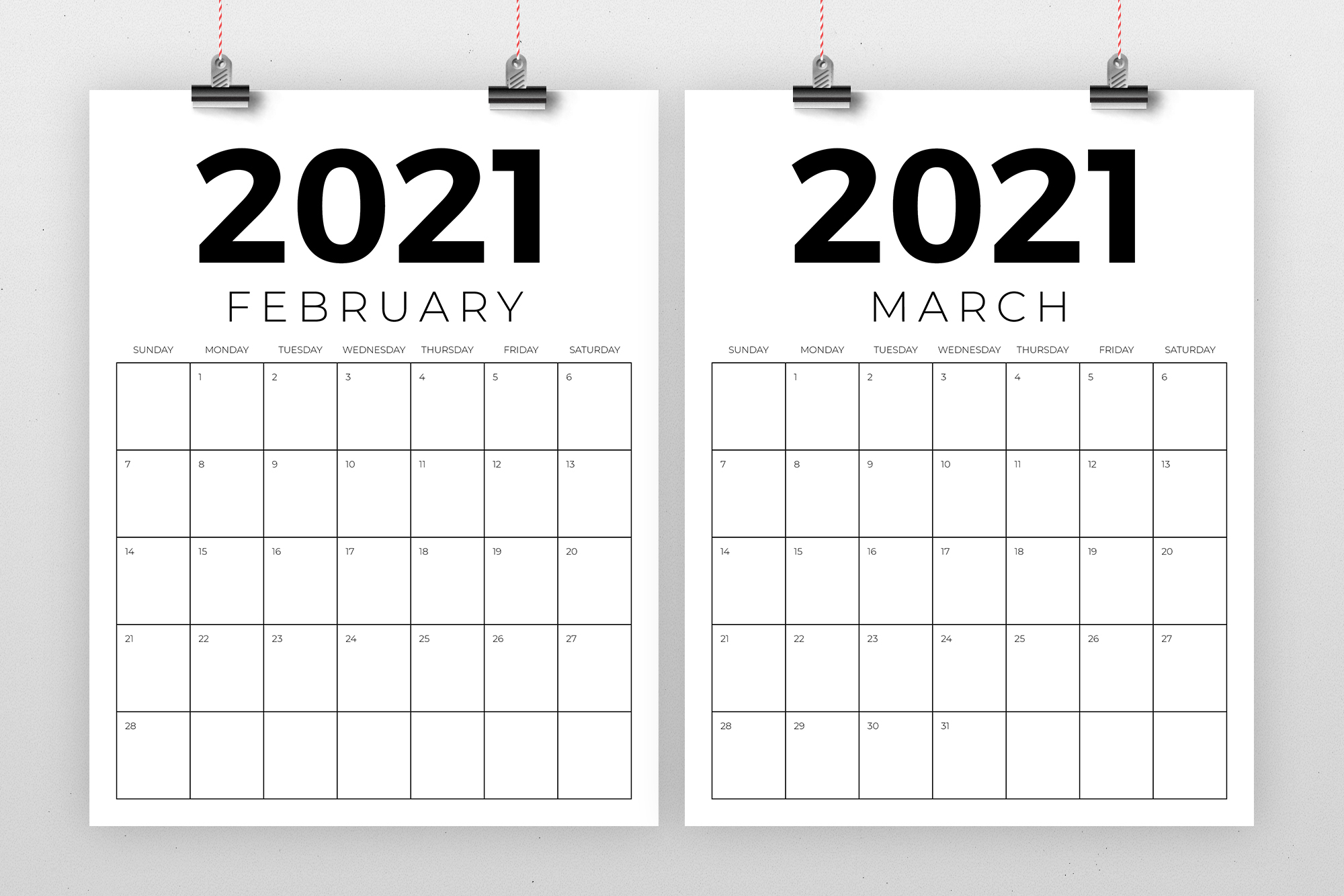 Vertical 8 5 X 11 Inch 2021 Calendar