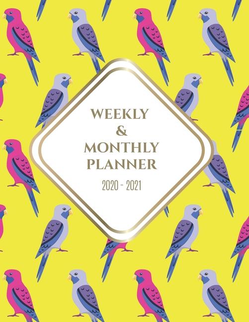 Weekly Monthly Planner 2020 2021 Big Custom Planners