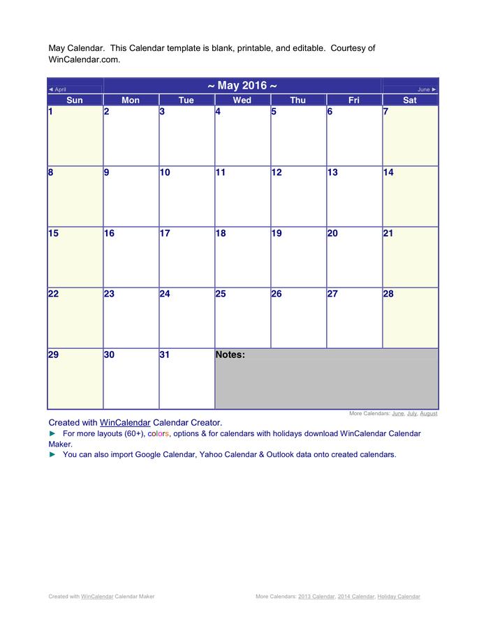 Win Calendar Printable Calendar Template 2020