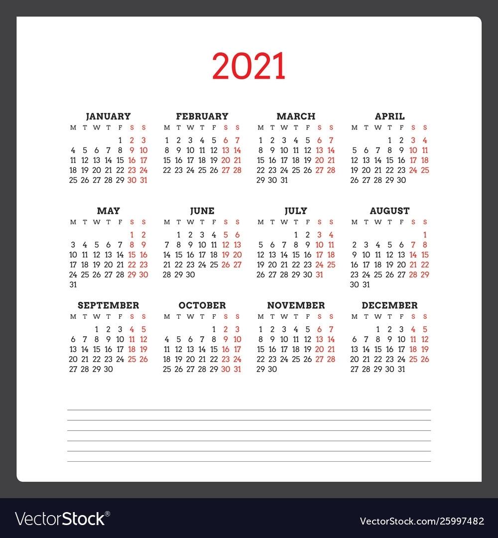 Year Calendar Numbered Weeks Ten Free Printable Calendar