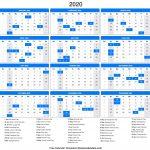 Yearly 2020 Calendar Templates Hi Everyone Did You Make