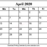 11 X 8 5 Calendar Pages 2020 Free Calendar Template