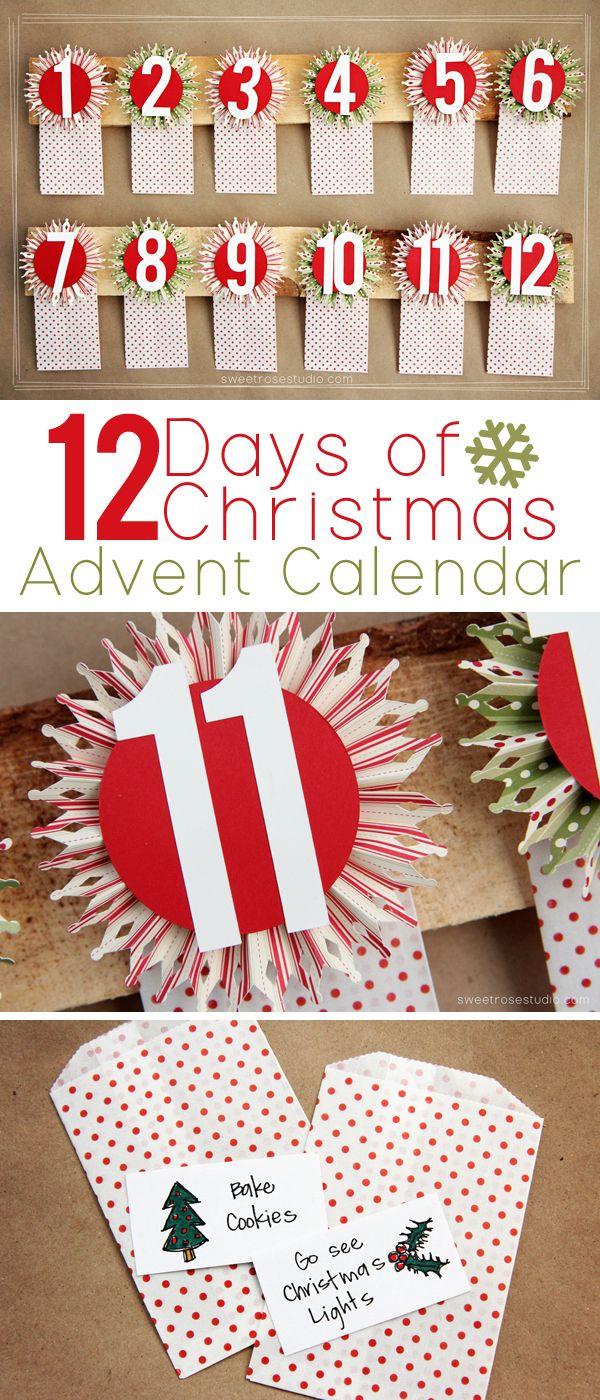 12 Days Of Christmas Advent Calendar Sweet Rose Studio