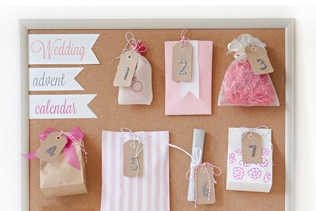 12 Things To Include In Your Wedding Advent Calendar