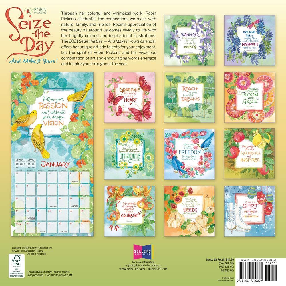 20 2021 Wall Calendar Amazon Free Download Printable