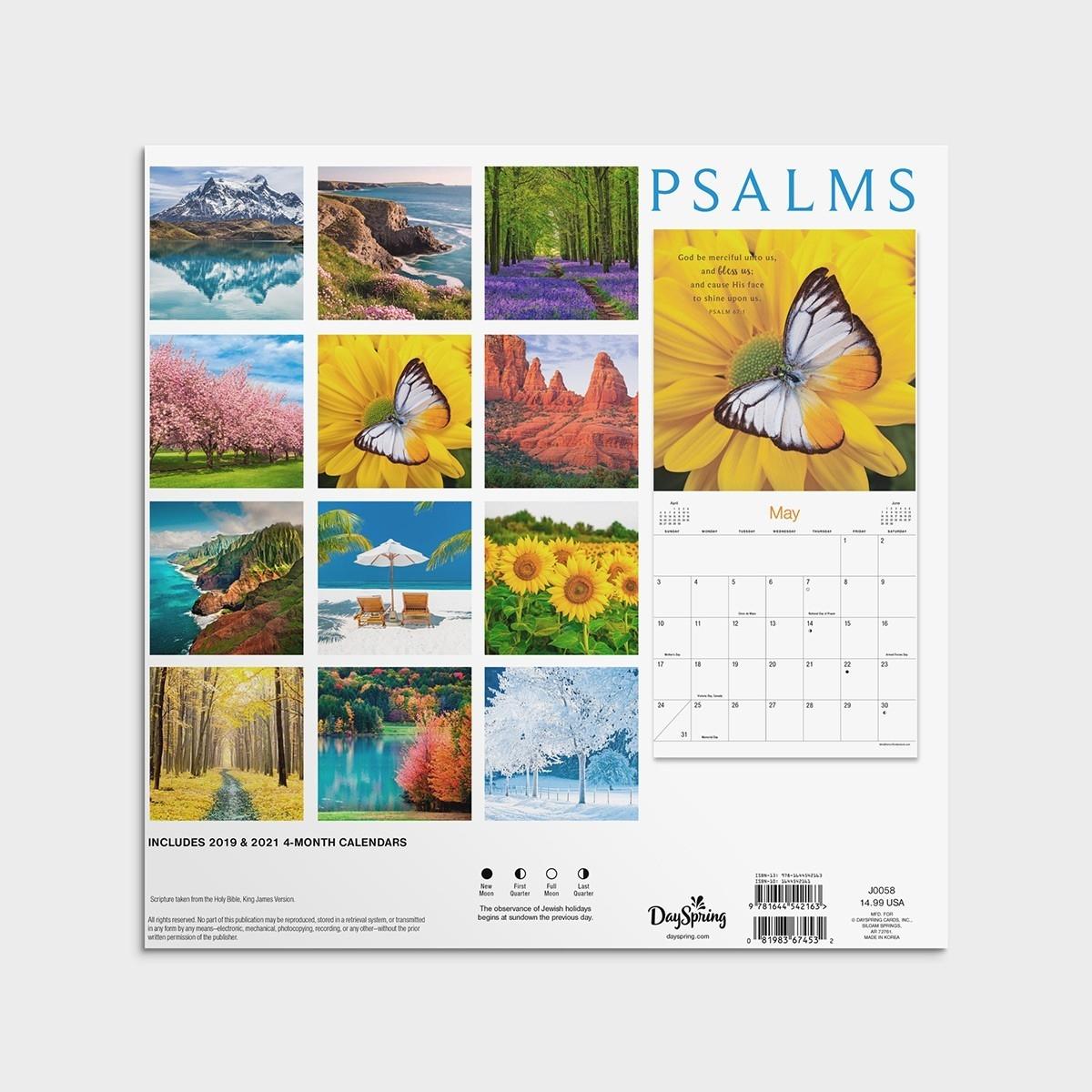 2020 Christian Advent Calendar With Scripture Template