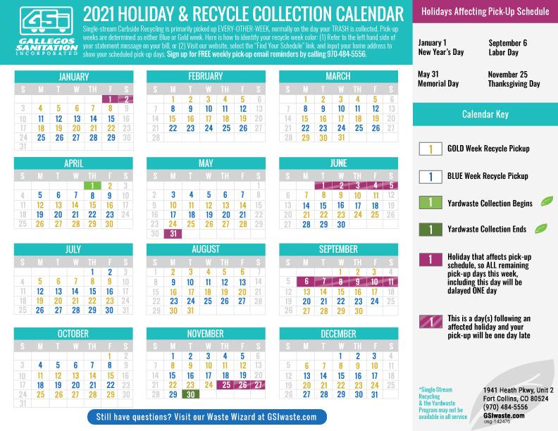 2021 Calendar Final Final Gallegos Sanitation