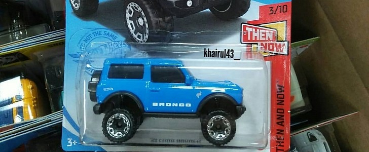 2021 Ford Bronco Hot Wheels Leaked Sasquatch Package