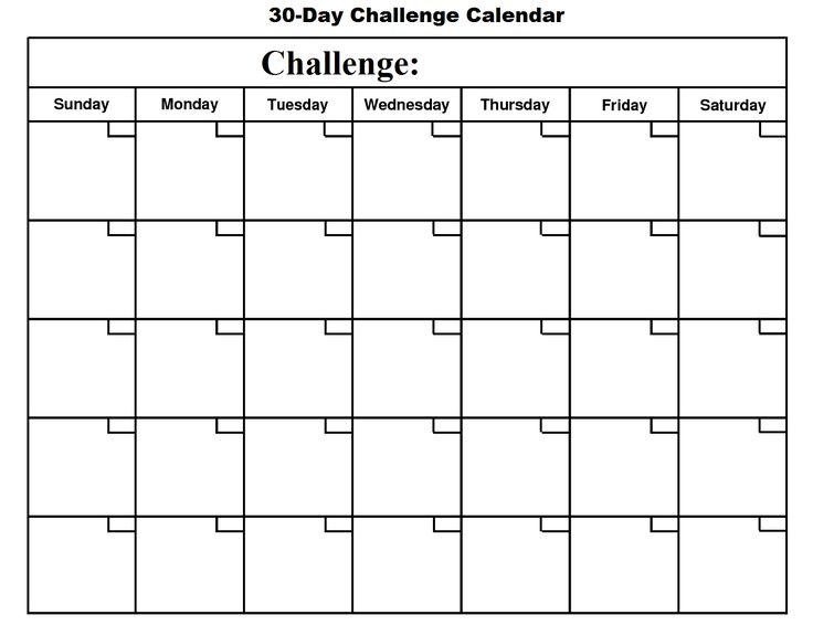 30 Day Calendar Google Search Free Calendar Template