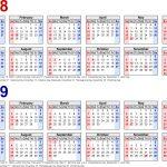 5 Year Calendar Online Month Calendar Printable
