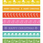 advent calendar day 16 free christmas paper chain