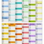 Australia Calendar 2020 Free Printable Word Templates