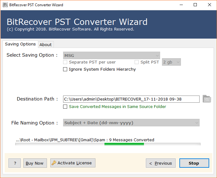 Bitrecover Pst Converter Wizard 12 1 Patch Crack Full