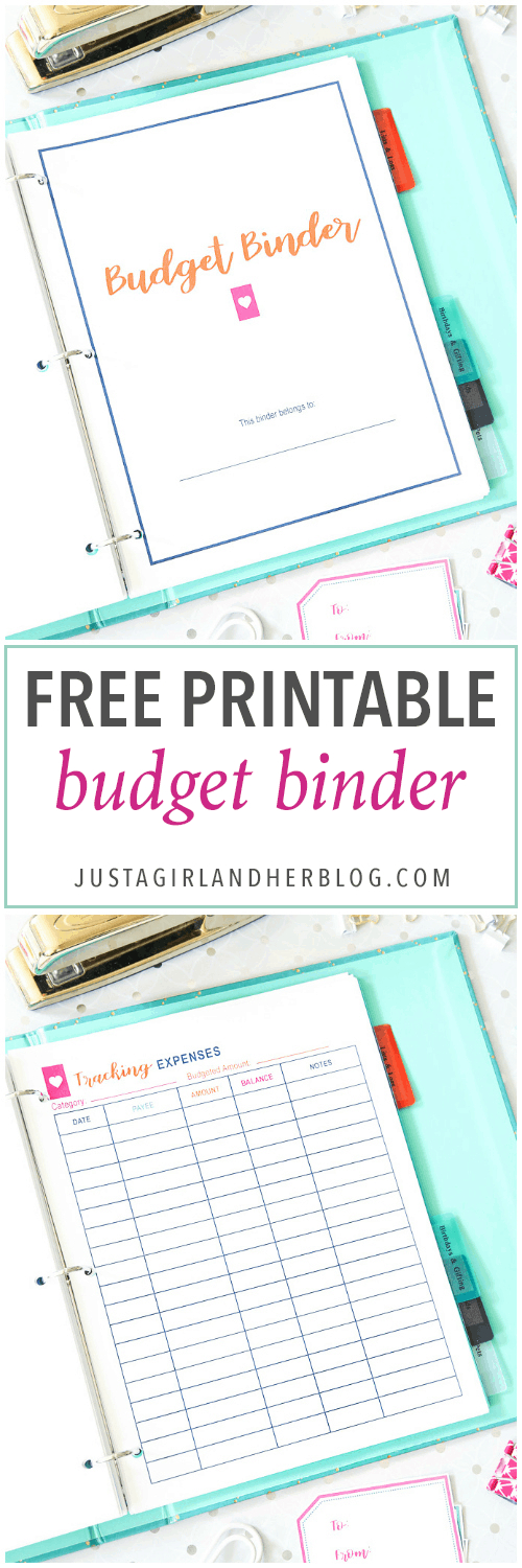 Budget Binder For 2020 With Free Printables Abby Lawson