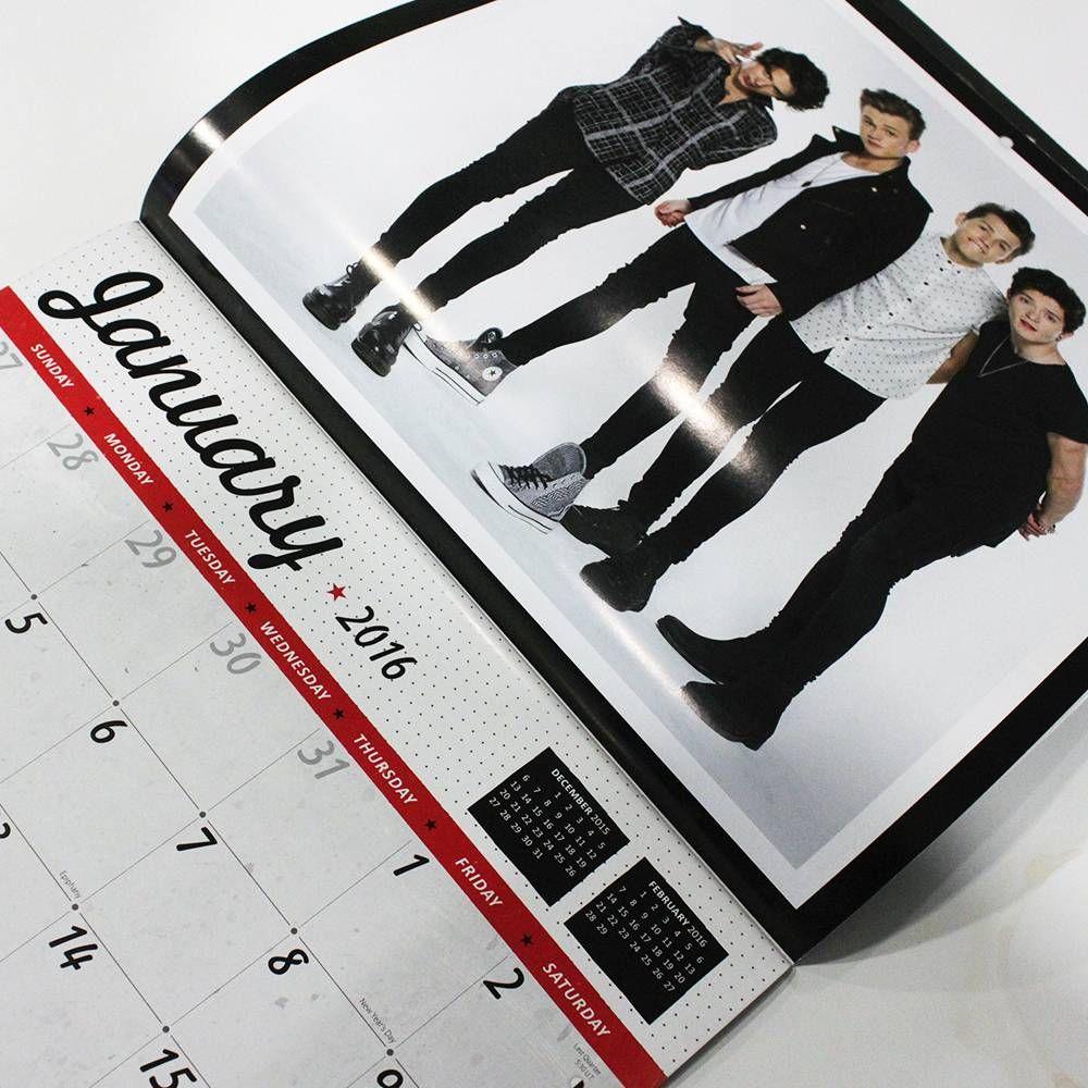 Buy Online The Vamps 2016 18 Month Calendar The Vamps