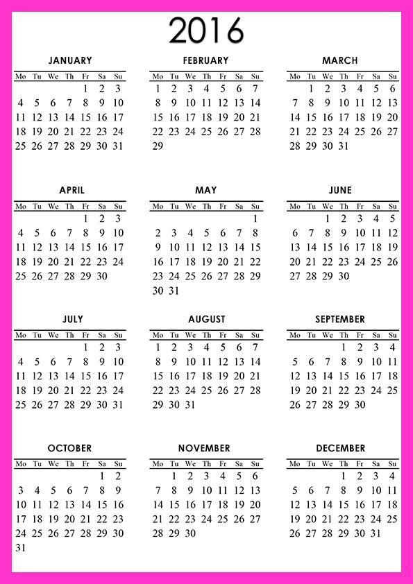 Calendar Template Page 19 Calendar Template 2020