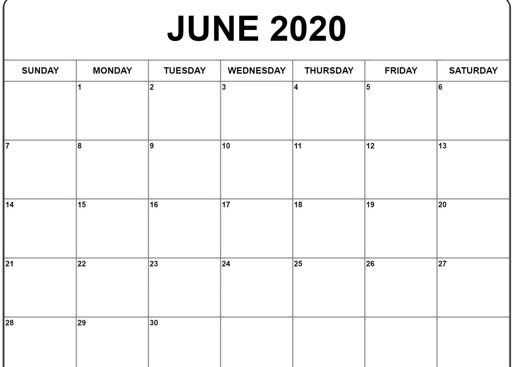 Calendar Word 2020 Microsoft Word Monthly Example