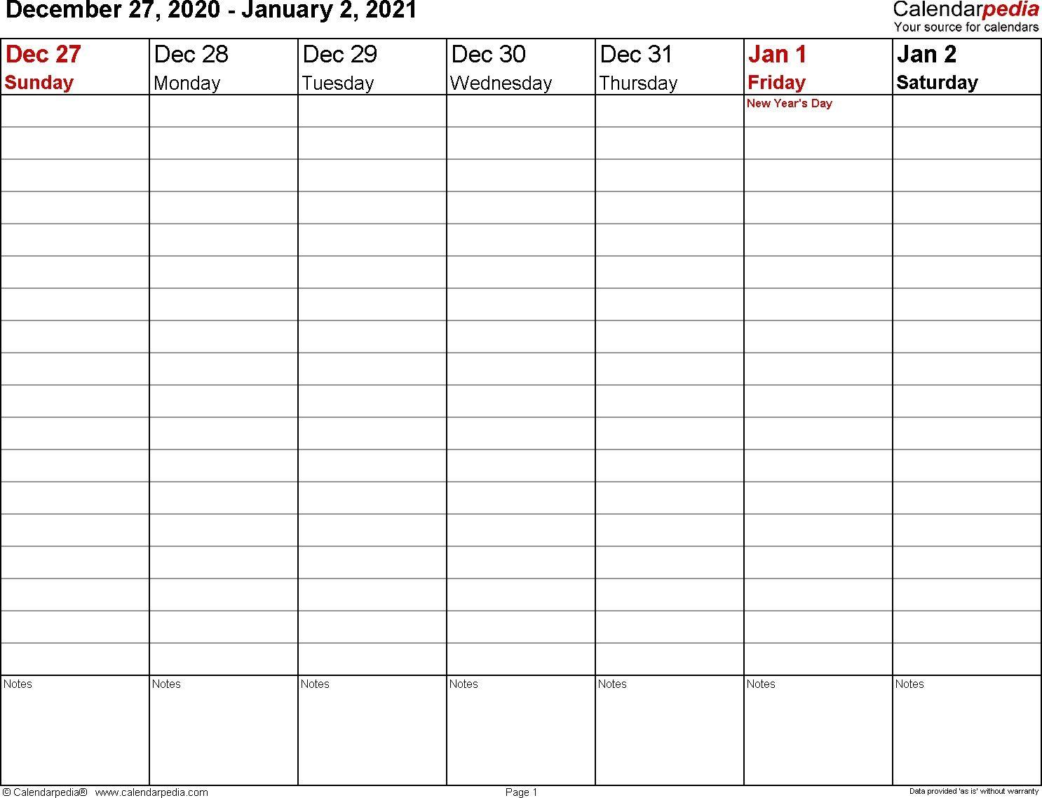 Calendarpedia Free Download Printable Calendar Templates