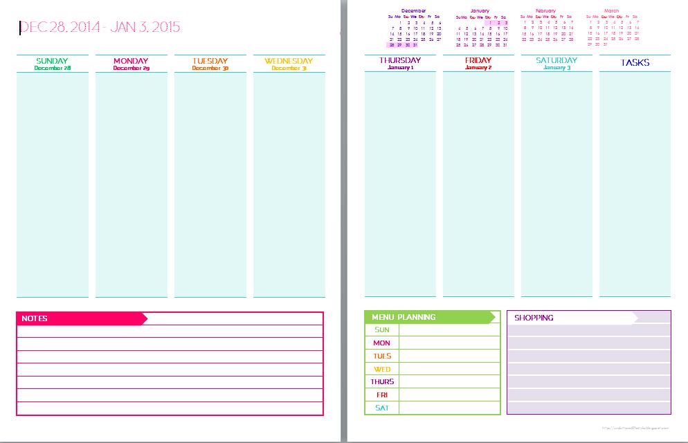 Cbs Page 30 Calendar Template 2020