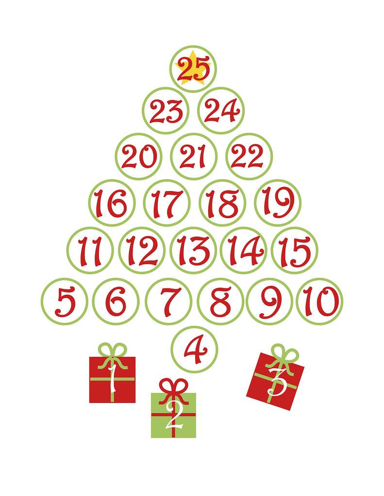 Christmas Countdown Template Kawaii Crafter Flickr