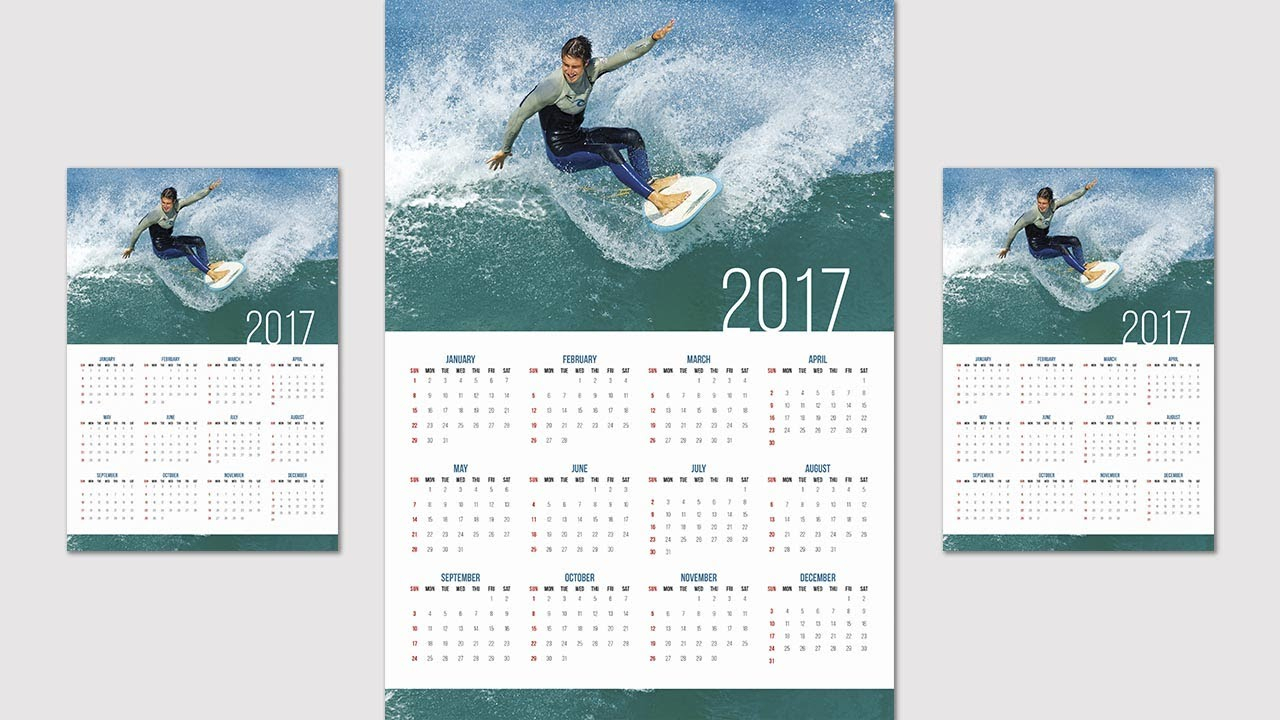 Collect Calendar Wizard 2020 Indesign Calendar