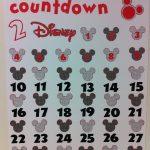 Countdown To Disney Printable New Calendar Template Site 1