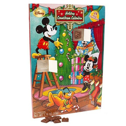 Disney Mickey Mouse Holiday Countdown Calendar Christmas
