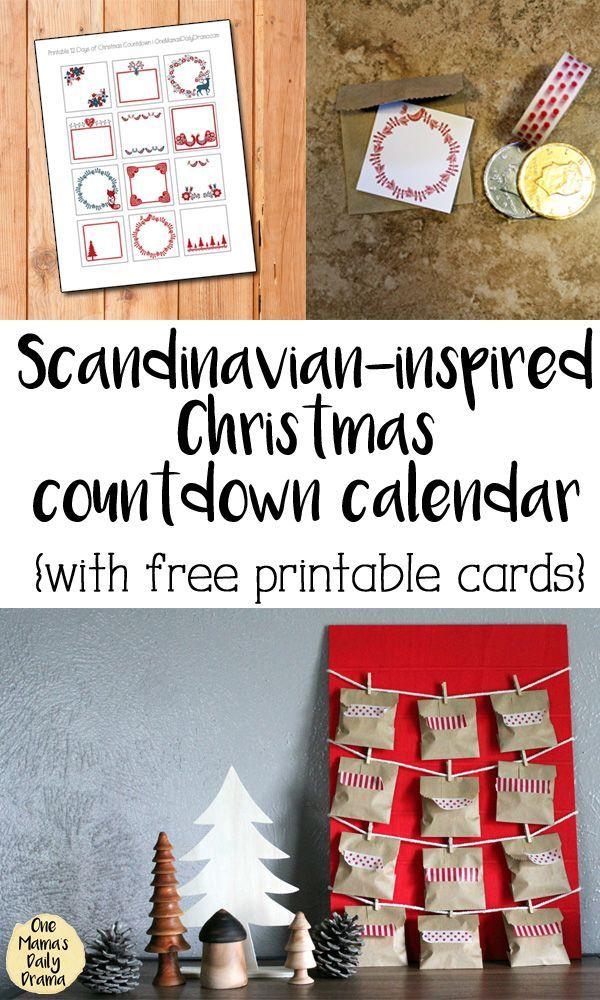 Diy 12 Days Of Christmas Countdown Calendar Christmas