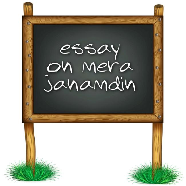 Essay In Hindi Language Essay On Mera Janamdin