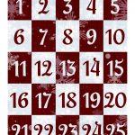 Free Christmas Countdown Printable I Can Teach My Child