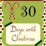 Free Countdown To Christmas Printable