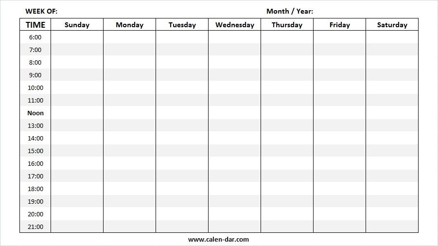 Free Printable 2021 Calendar Template Pdf Word Excel