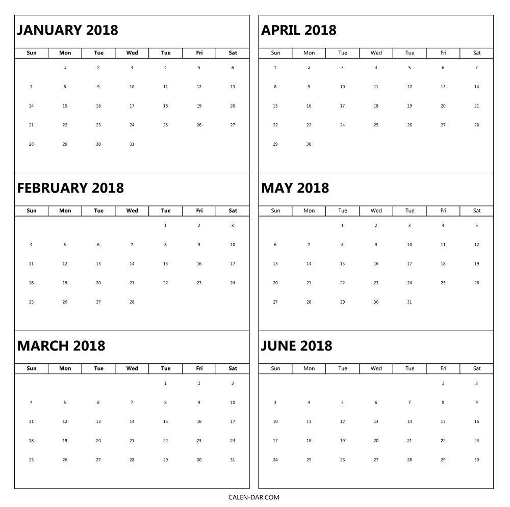 free printable 6 month calendar example calendar printable