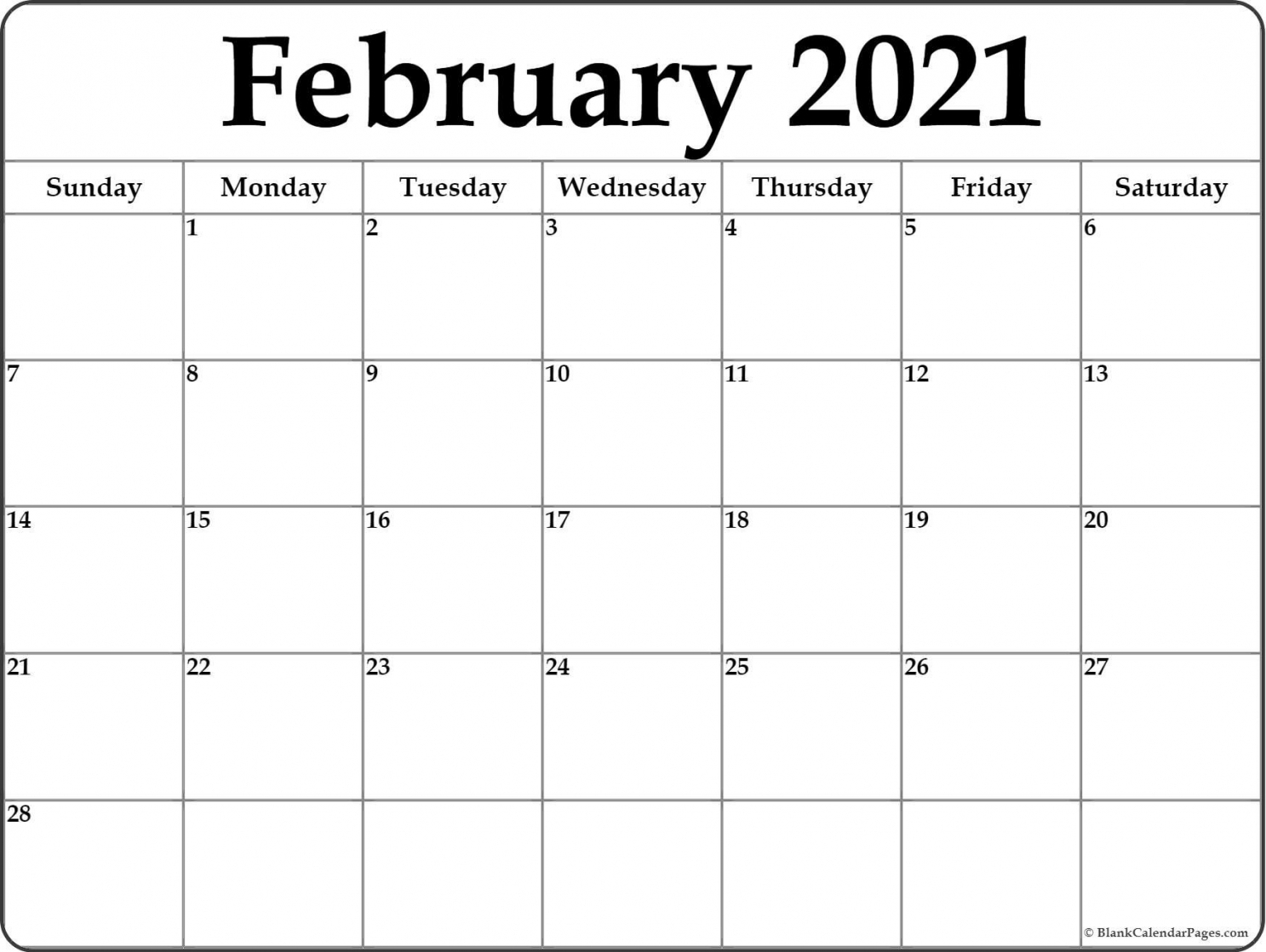 Free Printable Calendar 2021 With Lines Free Letter
