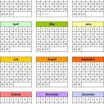 Free Yearly 5 5 X 8 5 Calendar 2020 Calendar Inspiration 1