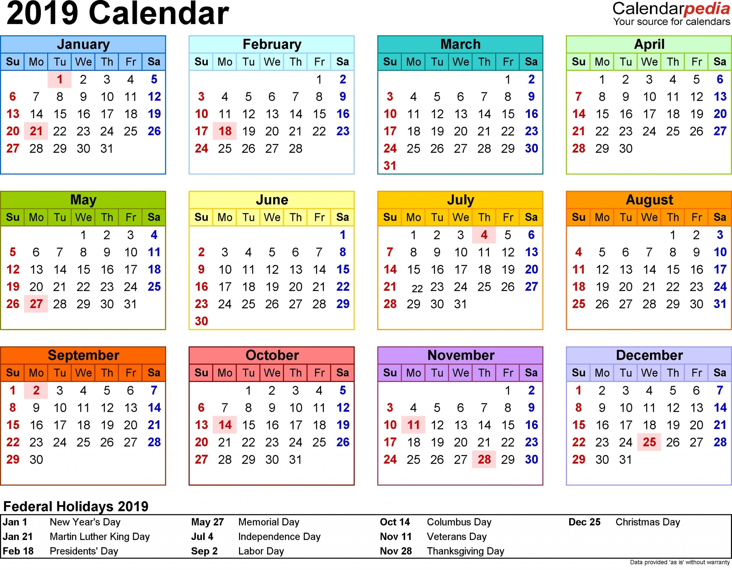 Free Yearly 5 5 X 8 5 Calendar 2020 Calendar Inspiration