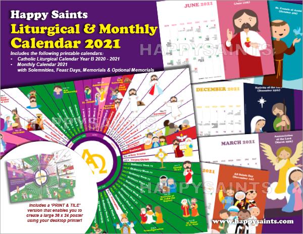 Happy Saints Happy Saints Liturgical Calendar