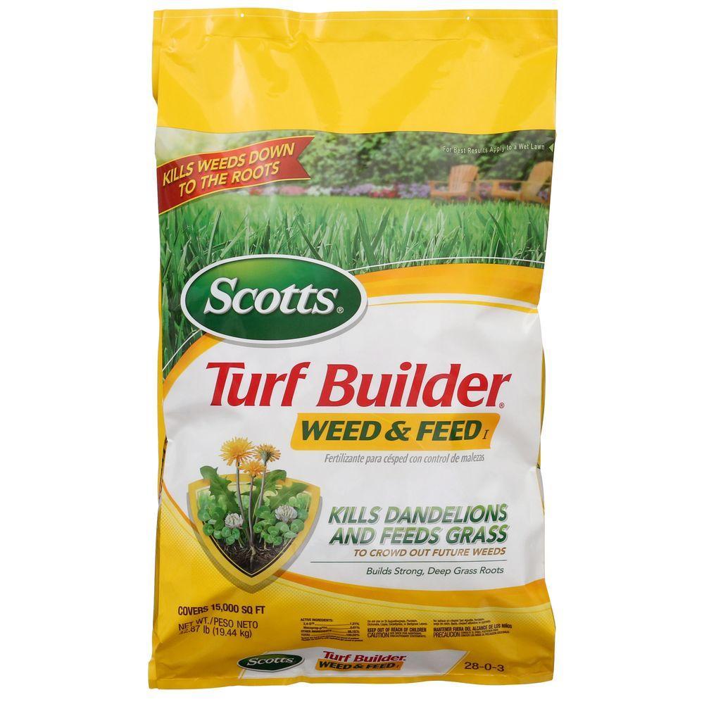 Home Depot Scotts Turf Builder Halts Crabgrass Preventer