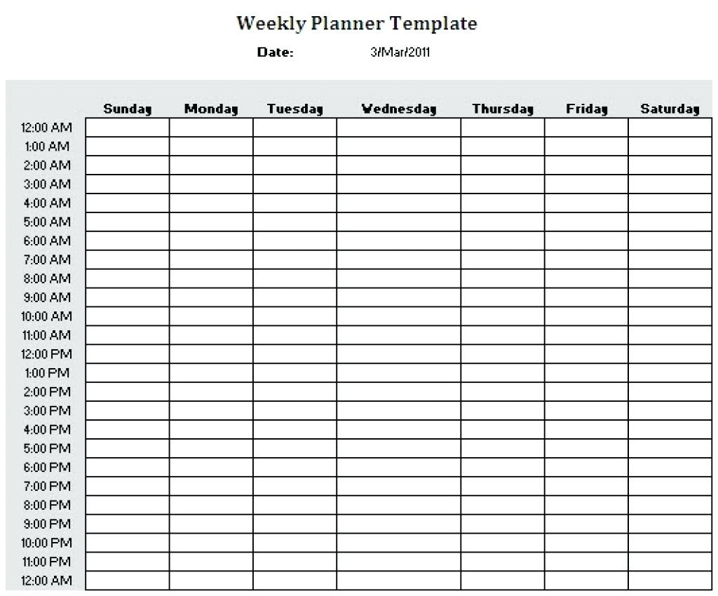 Hourhour Blank Calendars Calendar Inspiration Design
